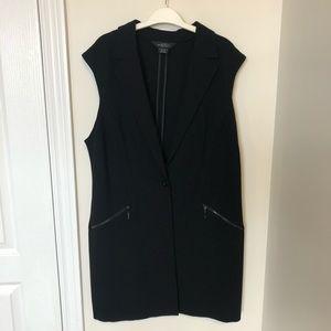 Michel Studio Single Button Vest Size 12